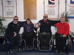 Scottish  Wheelchair Curling Champions  2012