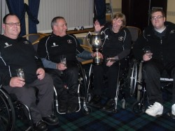 British Open Champions 2012 (L-R Gordon Rainey, Paul Webster, Angela Higson and John Doyle)