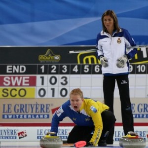 Muirhead found Sweden too strong on the day