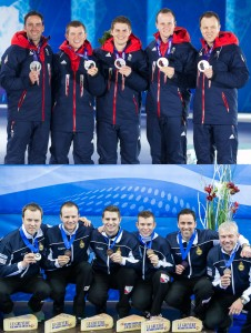 Team Scotland and Team GB Men